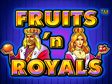 Игровой автомат Fruits And Royals в Вулкан